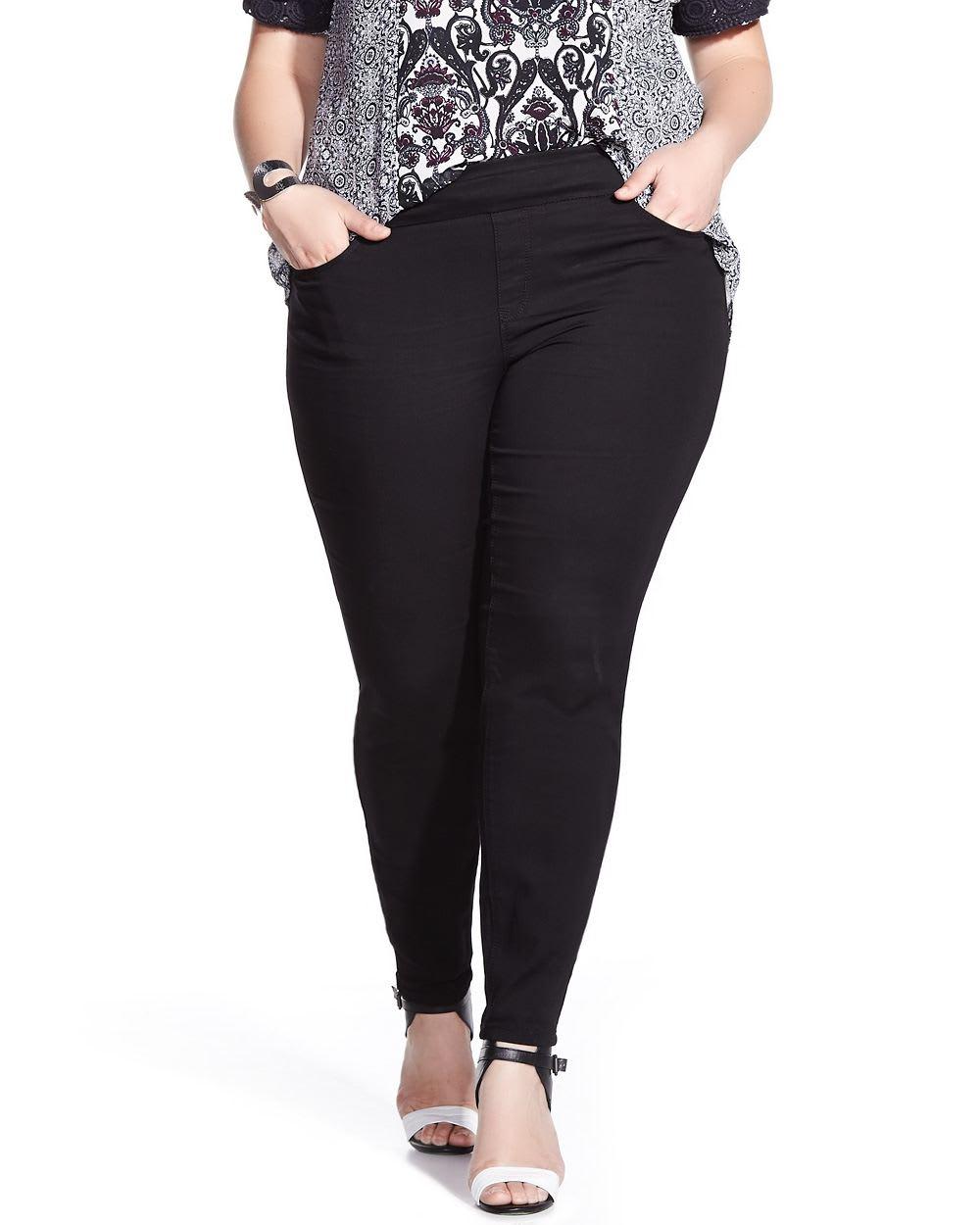 Plus Size Jean Leggings - Jeans Am