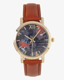 Wrist Watch with Printed Face