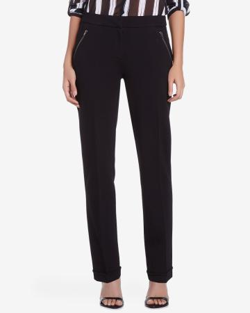 Petite Straight Leg Dress Pants