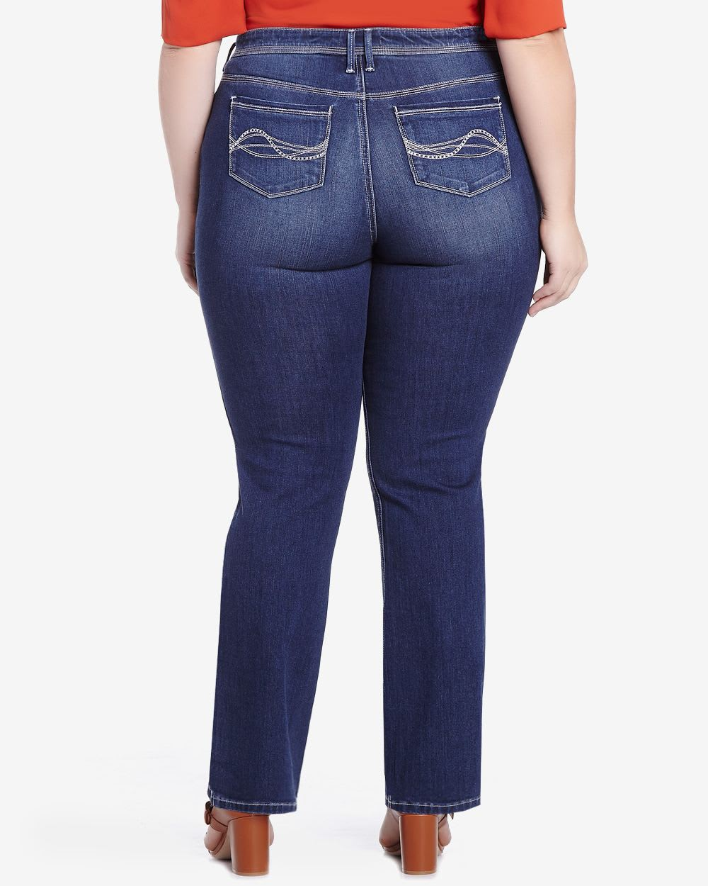 Plus Size Only Denim Slight Boot Cut Jeans  Plus Sizes  Reitmans