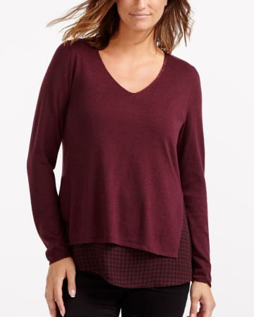 Long Sleeve Fooler Top
