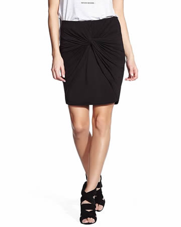 Knot Effect Skirt
