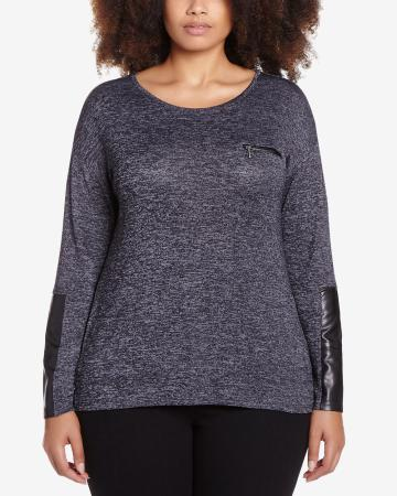 Plus Size Long Sleeves Sweater