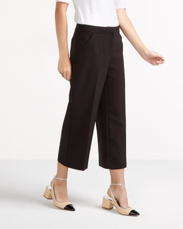 Wide Leg Cropped Pants