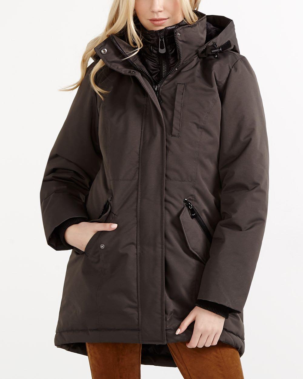 manteau de ski en duvet femmes reitmans. Black Bedroom Furniture Sets. Home Design Ideas