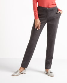 Slim Leg Knit Pants