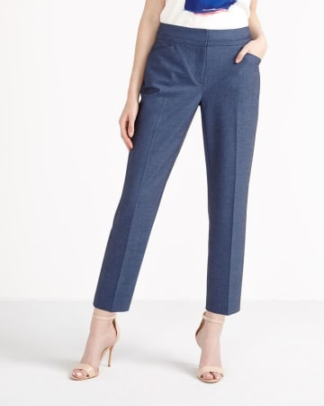 Willow & Thread Slim Ankle Pants