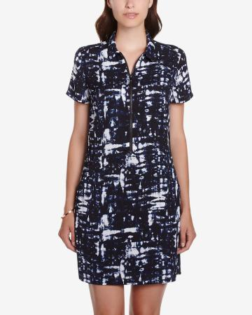 Willow & Thread Short Sleeve Printed Dress