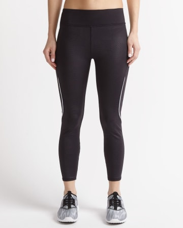 Hyba Embossed Cropped Legging