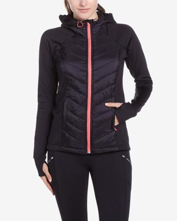 Hyba Quilted Hooded Jacket