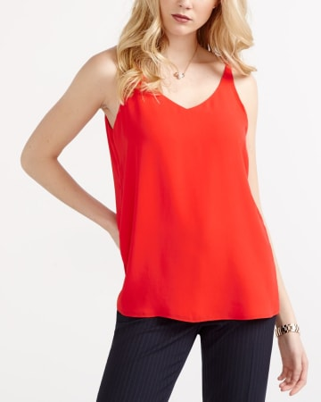 Willow & Thread Sleeveless Blouse with Back Details