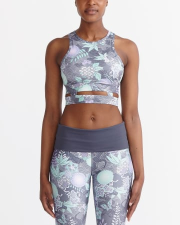 Hyba Printed Crop Top