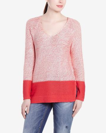 Long Sleeve V-Neck Sweater