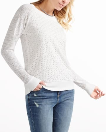 Long Sleeve Sweat-Shirt