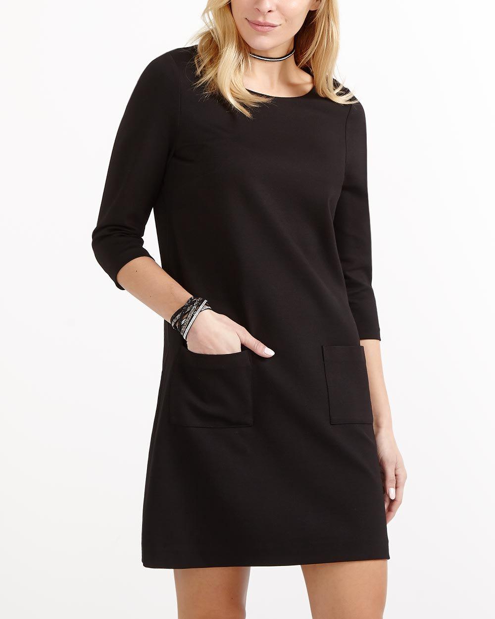 3/4 Sleeve Shift Dress | Women | Reitmans