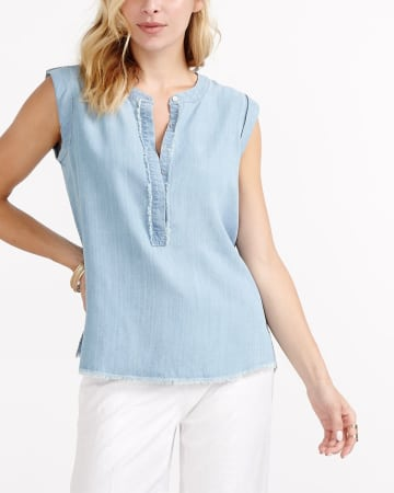Frayed Blouse