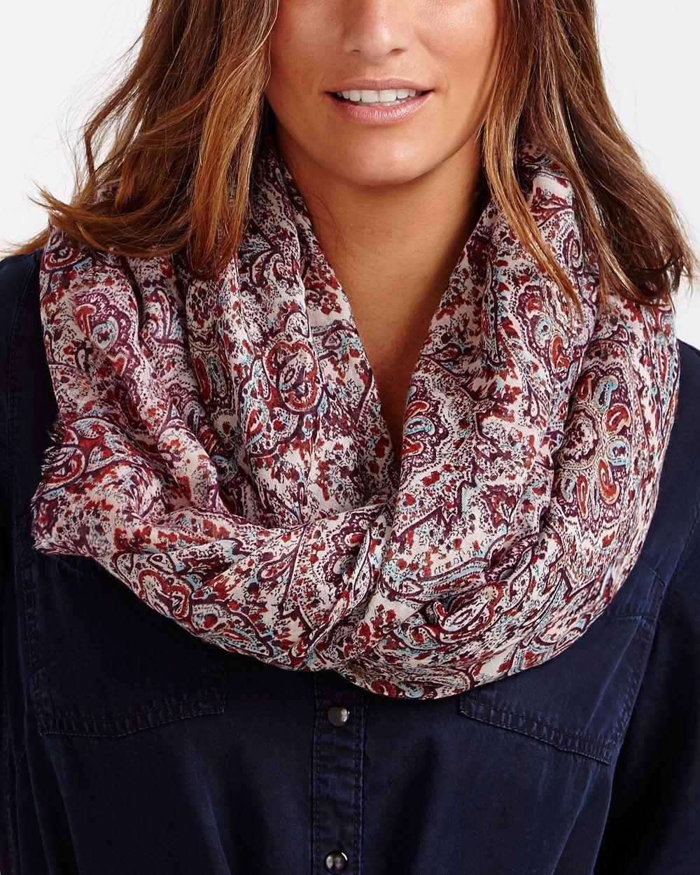 paisley scarf reitmans