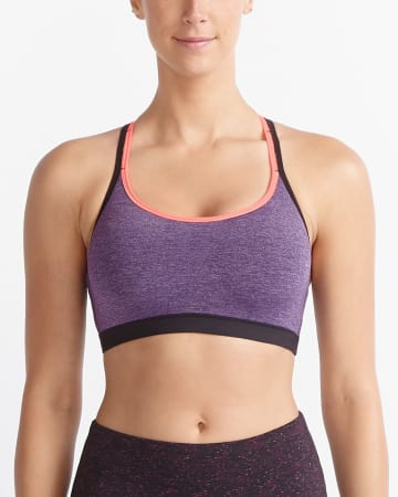 Hyba Space Dye Low-Impact Sports Bra