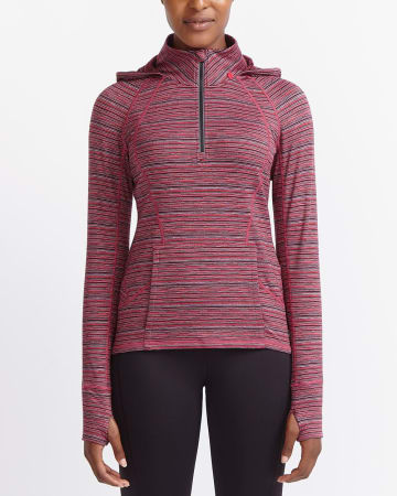 Hyba Heather Hooded Popover