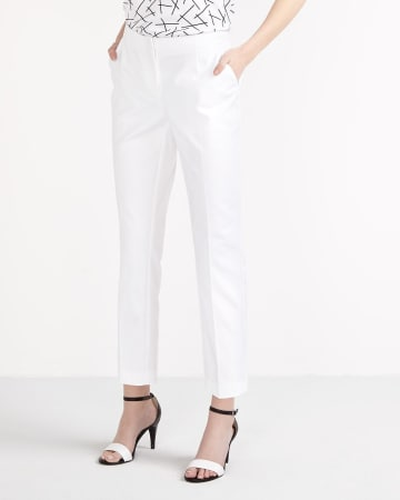 Willow & Thread Sateen Crop Pants