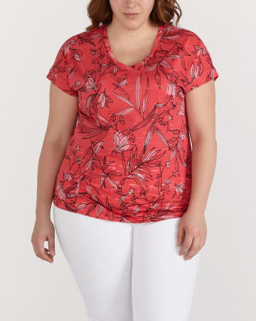 Plus Size Printed Tee