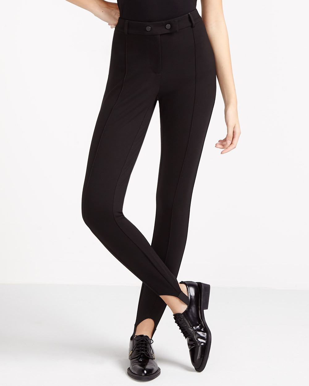 Find black stirrup pants at ShopStyle. Shop the latest collection of black stirrup pants from the most popular stores - all in one place.