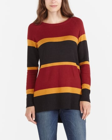 Long Sleeve Colourblock Tunic
