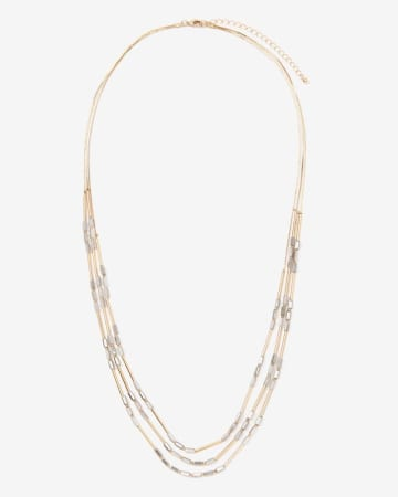 Long 3-Row Necklace