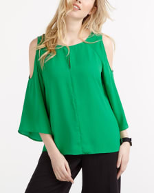 Cold Shoulder Blouse