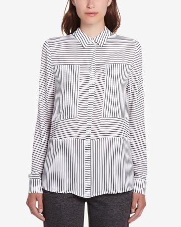 Willow & Thread Long Sleeve Striped Shirt
