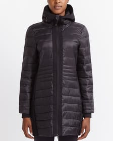 Hyba Long Quilted Jacket