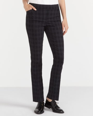 The Original Comfort Straight Leg Plaid Pants