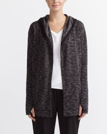 Hyba Heather Open Cardigan