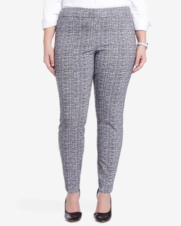 Plus Size Slim Leg Original Comfort Pants
