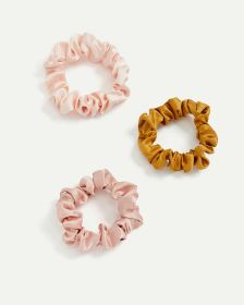 3-Pack Mini Satin Scrunchies