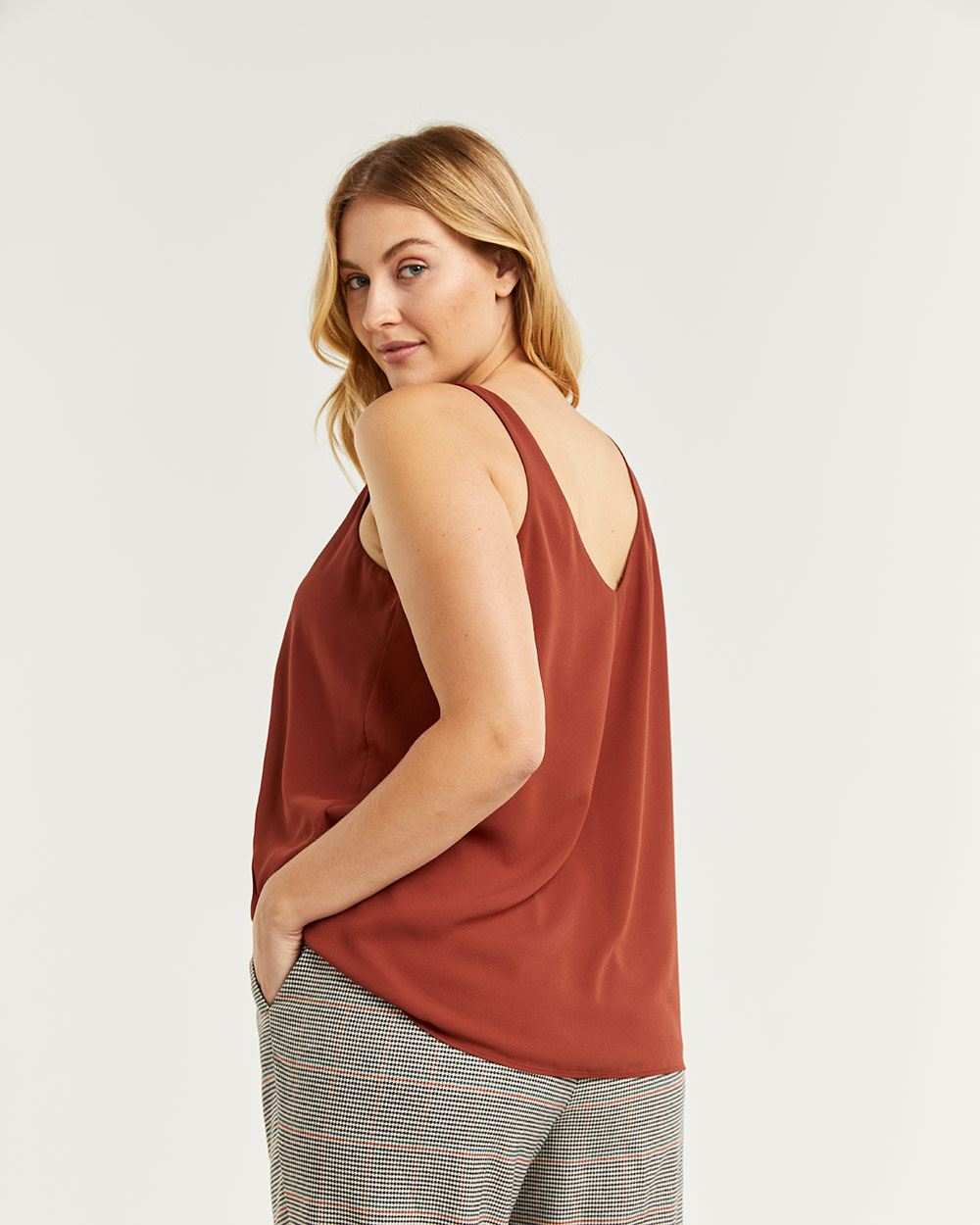R Essentials Reversible Tank Top