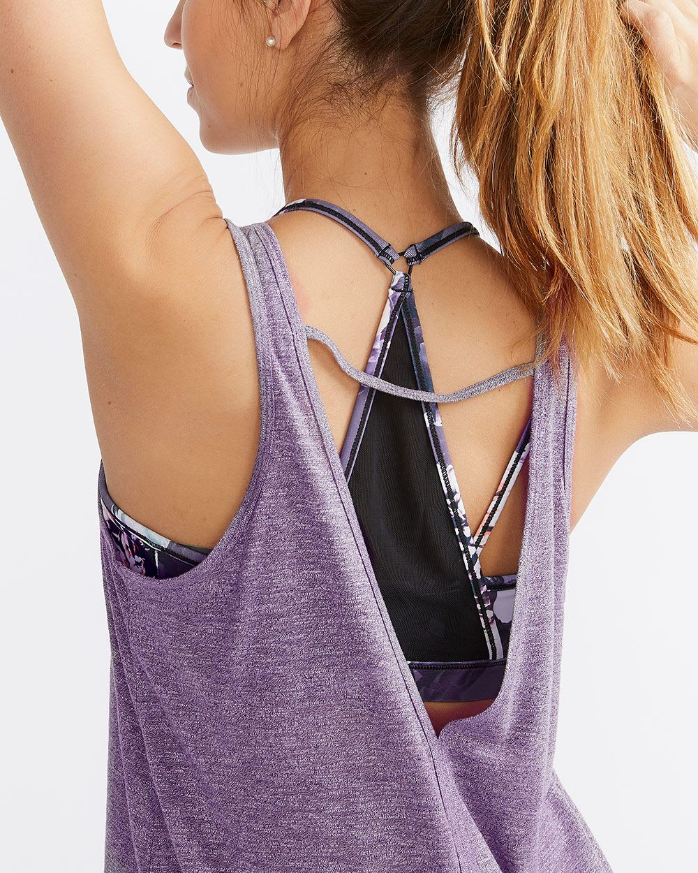 Hyba Slit Back Tank Top