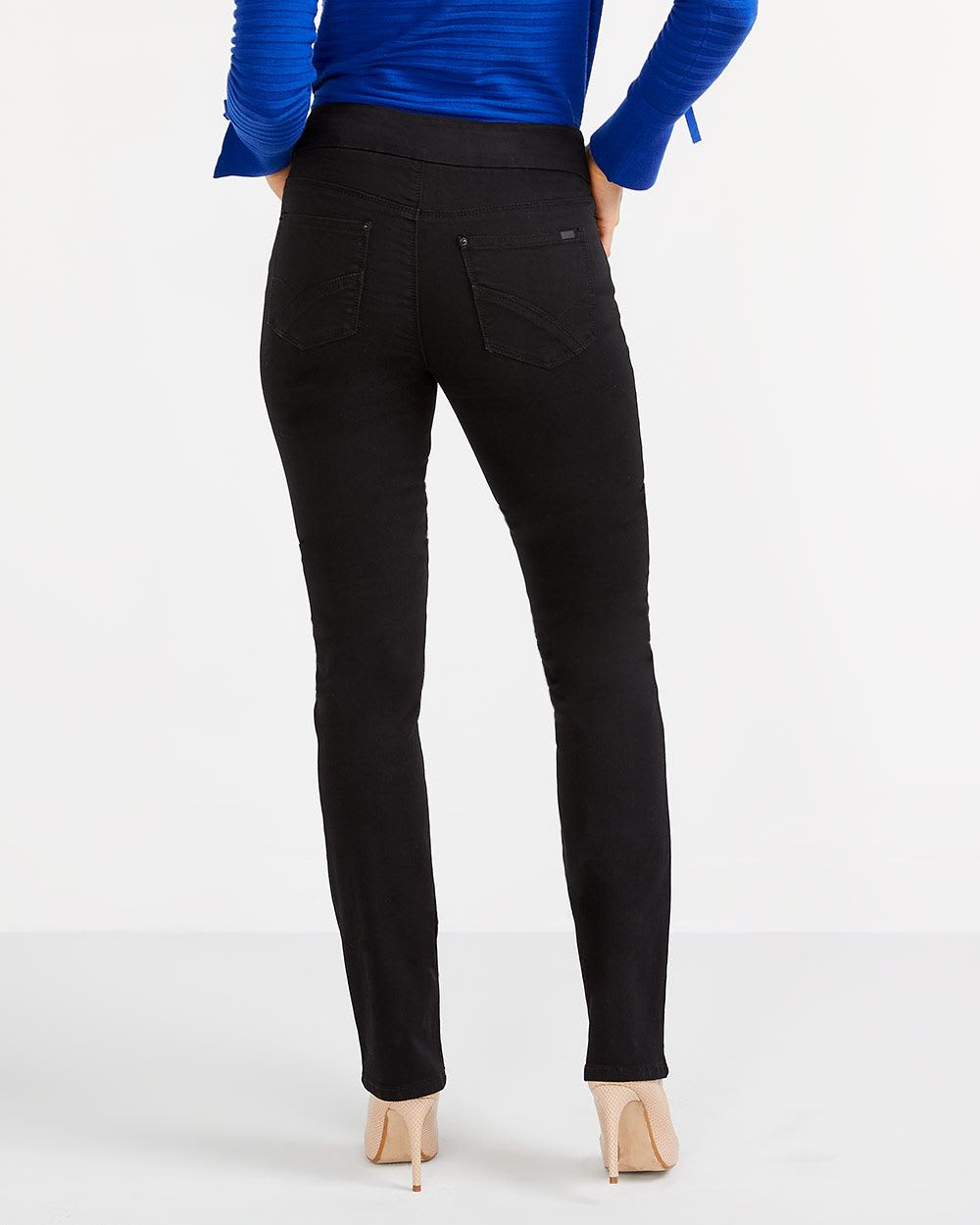 The Tall Original Comfort Black Jeans