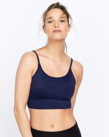 Hyba Convertible Low-Support Solid Sports Bra