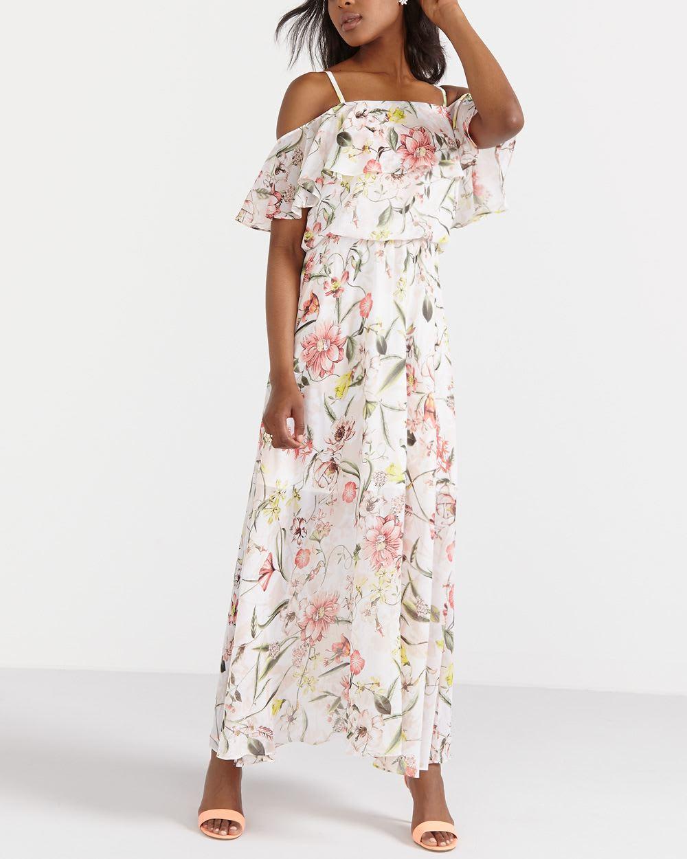 6dea592455 Off The Shoulder Maxi Dress | Women | Reitmans
