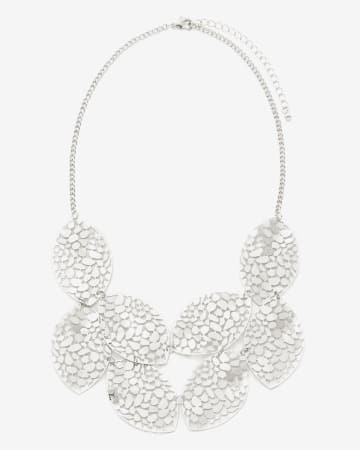 Leaf Statement Necklace