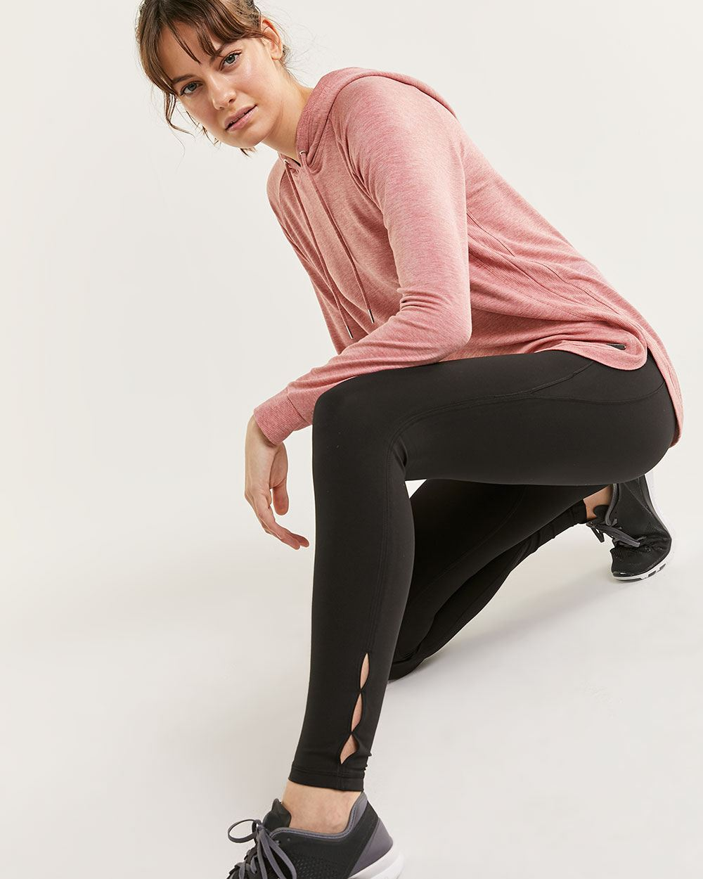 High Waist Leggings with Keyholes Hyba