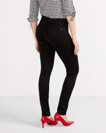 The Tall Signature Soft Skinny Black Jeans