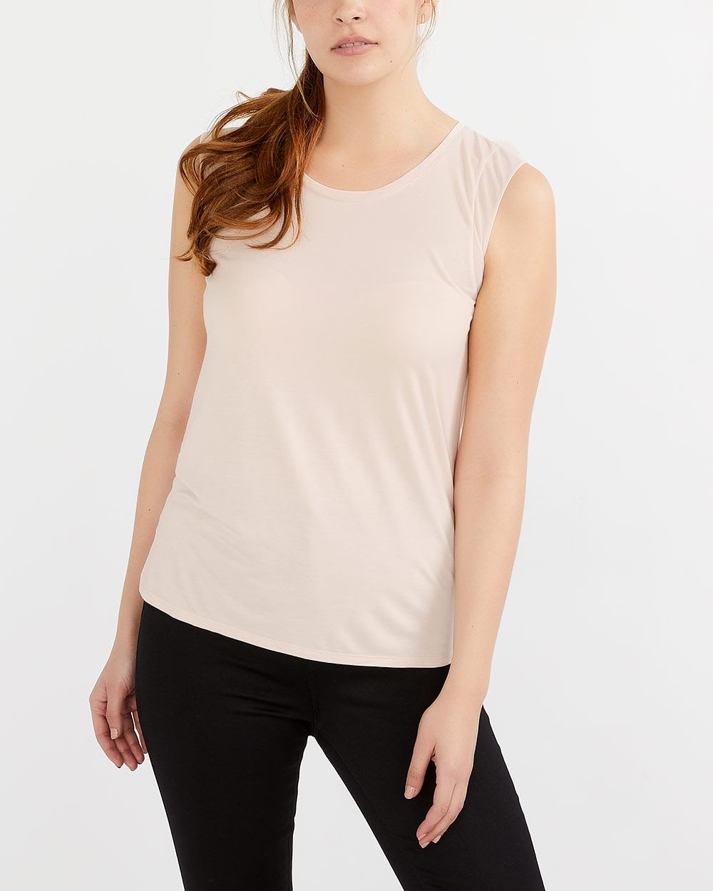 Cap Sleeve Solid Top