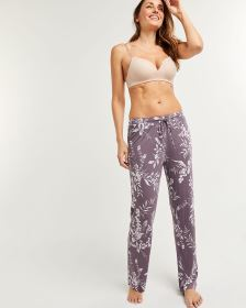 Printed Straight Pyjama Pants with Drawstring