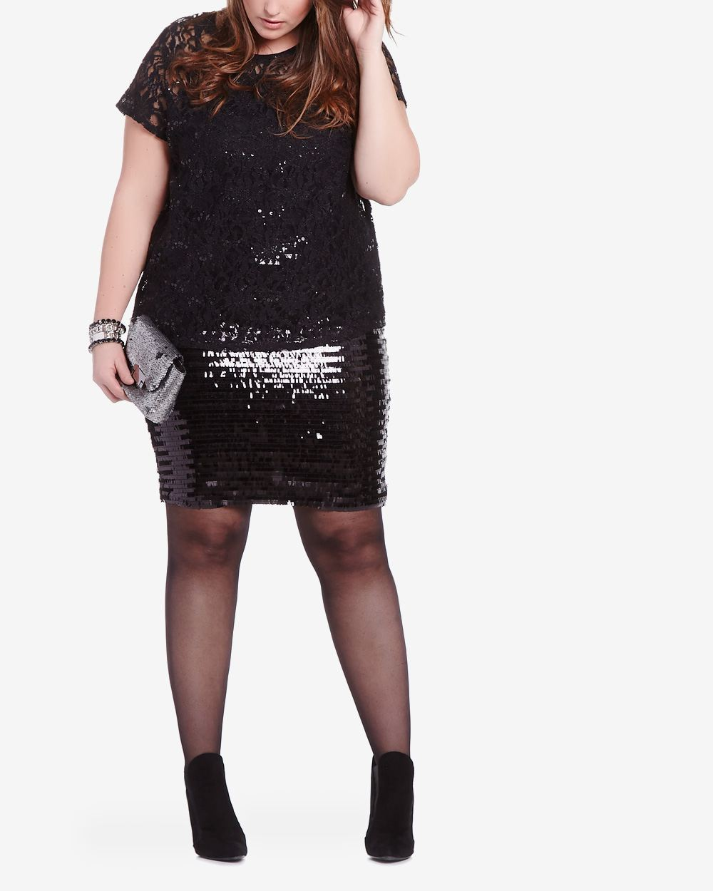 Plus Size Sequin Skirt | Plus Sizes | Reitmans