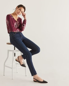 The Tall Insider Dark Wash Skinny Jeans