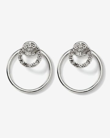 Front-Back Circle Earrings