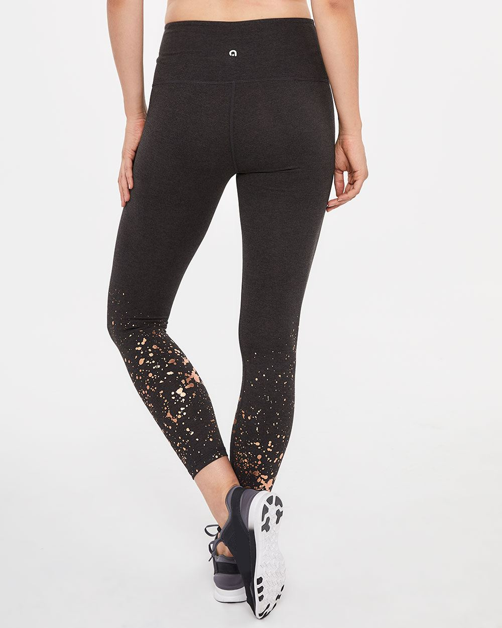 Hyba Foil Print Leggings