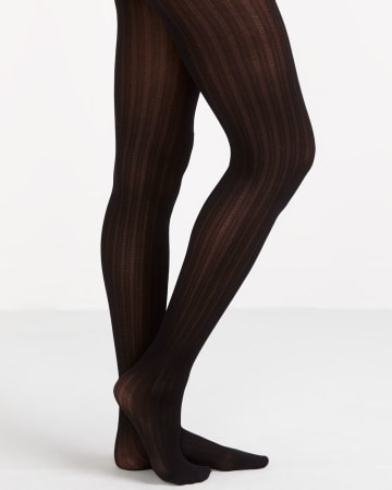 Mini Diamond Pattern Tights